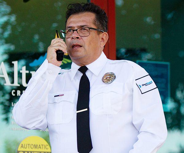 Armed Security Guard in California